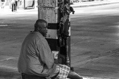 homeless man - II